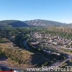 Durango Colorado aerial view