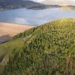 Lake Dillon Aerial View