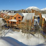 View looking at Ski Silverthorne Lodge