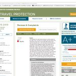CSA Travel Protection reviews on BBB