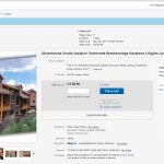 Ebay Auction for Ski Silverthorne Lodge