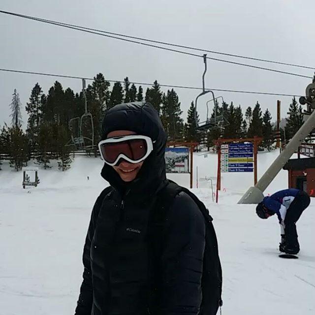 On top of Breckenridge Ski Resort  #breckenridge #skisilverthorne