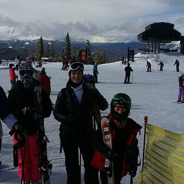 Keystone day one. Let the fun begin!  #keystone #skisilverthorne #breckenridge