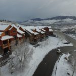 Ski Silverthorne Lodges 30A and 40D with Silverthorne down in the valley