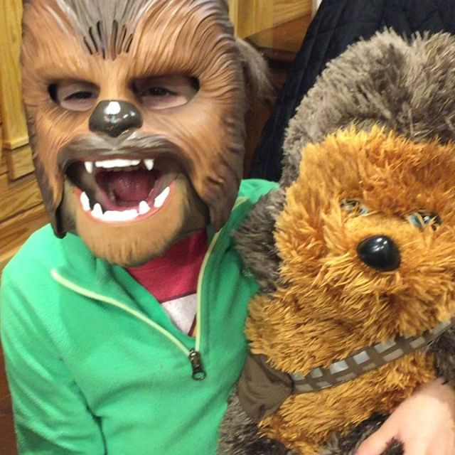 Chewbacca says you should stay at our place! We just saw SOLO- and this fan loved it! #stayhere #coloradovacations #chewbacca #funplacestostay