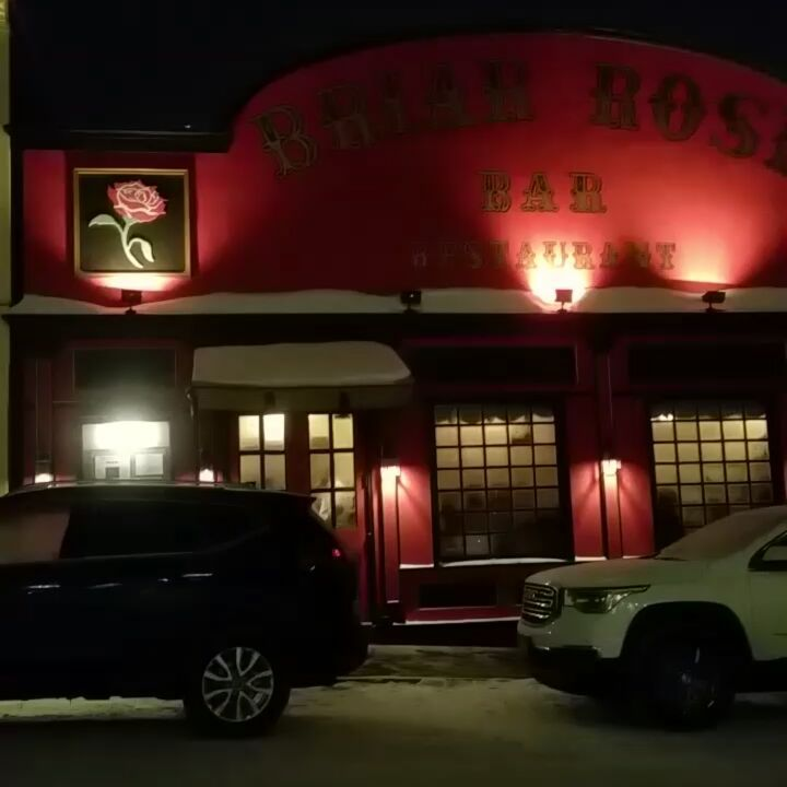 Briar Rose restaurant on Breckenridge is a great place to eat.  Make sure to make reservations. This place is always packed. #briarrose #skisilverthorne #breckenridge #snow