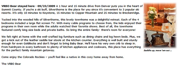 Silverthorne Lodging review