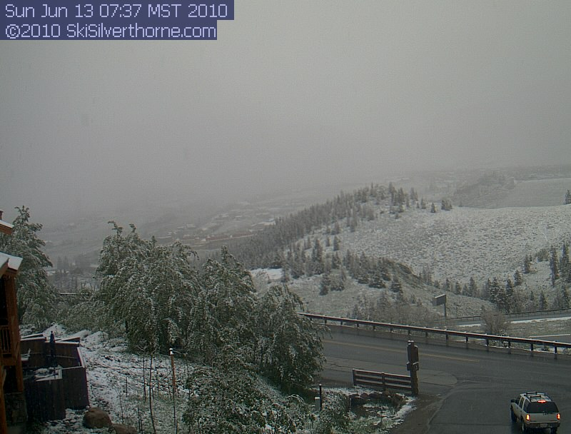 live view of Silverthorne