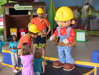 Bob The Builder at Elitch Gardens