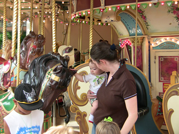 Carousel at Elitch Gardens