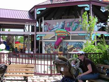 Wacky Warehouse at Elitch Gardens