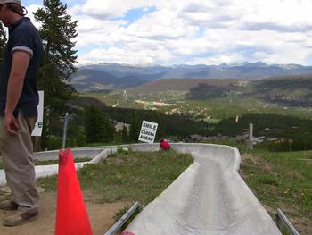 Alpine Slide Starting Line