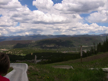 Top of the Alpine Slide - Breckenridge