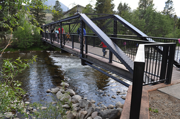 Blue River at Silverthorne Pavilion