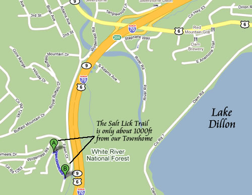 Directions to Salt Lick Trail